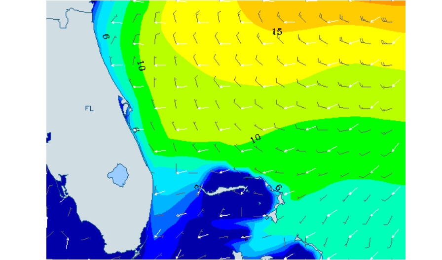 Hurricane Florence Swell Projection South Florida